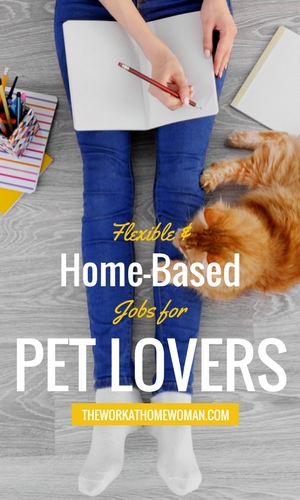 There's no shortage of gigs for animal and pet lovers! If you're one, here are a variety of home-based businesses and jobs for pet lovers. #pets #animals #jobs via @TheWorkatHomeWoman
