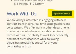 Accutran Global hires transcriptionists online even if you don't have experience.