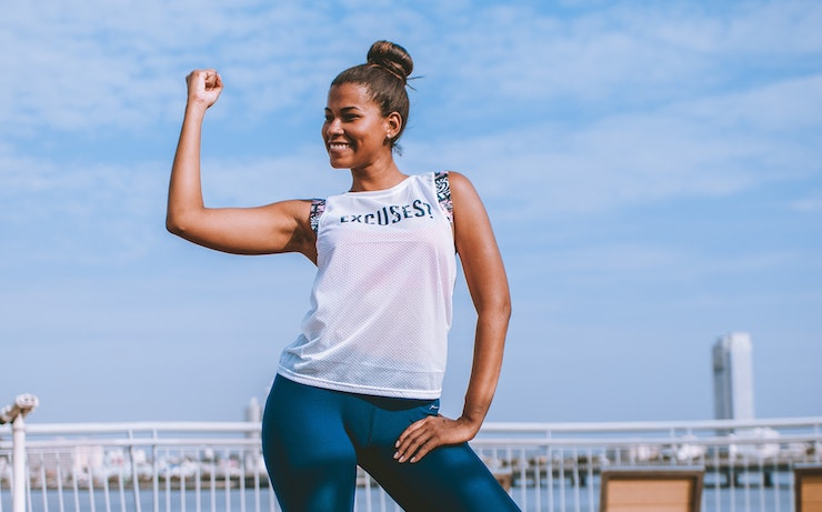 woman-happy-while-working-out-making-money