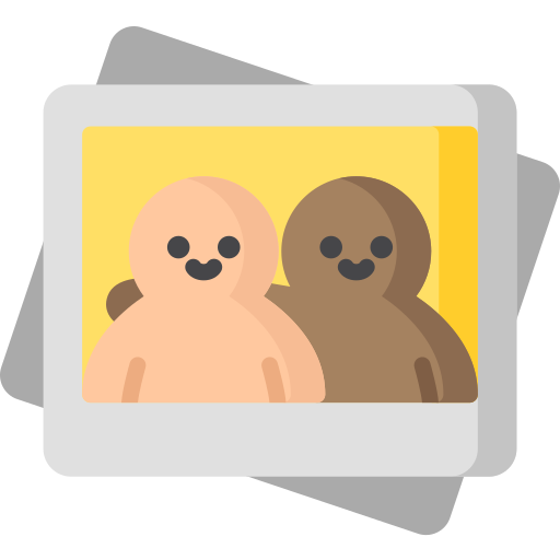 Icon of two people in photo